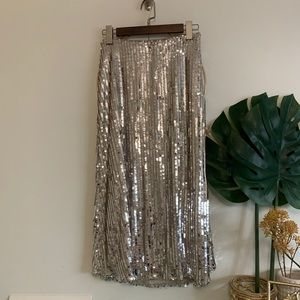 NWT Show Me Your Mumu Sequin Skirt size S
